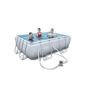 Bestway 56629 piscina con telaio Power Steel cm 282x196x84H pompa filtro