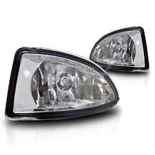 For 2004-2005 Honda Civic 2 / 4 Door Clear Lens Chrome Housing Fog Lights Lamps