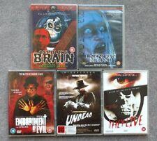 Region 2 Italian Horror Movie DVD Lot Lucio Fulci Cat In The Brain Coffin Joe
