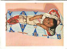 "Arte antiguo tarjeta postal-Winold Reiss - ""snow Bird-en Carrier"""