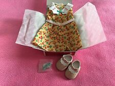 NEW American Girl Kit Ruthie Floral Flower Dress Hair clip Shoes Adorable