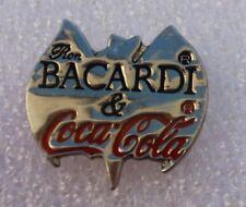 Pins Coca-Cola . Bacardi