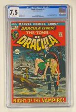 TOMB OF DRACULA #1 Marvel Comics 1972 CGC 7.5 Dracula 1st Appearance