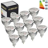 24/10/8x MR16 6W LED Bulbs Spotlight Warm/Daylight Downlight GU5.3 50W A+ DC12V