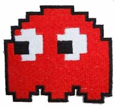 GHOST RED iron on/sew on Embroidered Patch Applique DIY (US Seller) game gaming
