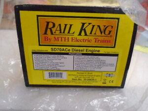 MTH 30-20635-1 O George Bush RailKing SD70ACe Imperial Diesel Locomotive #4141