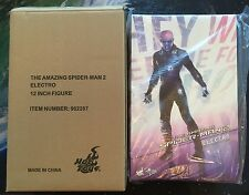 """HOT TOYS Electro 1/6 sixth scale 12"""" figure NEW MMS246 Amazing Spider-Man 2"""