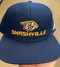 Nashville Preditors Hat Smashville Navy. NEW!! Adidas