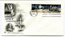 1971 Decade Space Achievments First Day Issue Kennedy Center NASA US Mercury