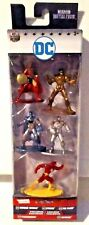 Nano MetalFigs DC 5-Pack Wonder Woman Cyborg Flash Parademon Batman New MISB