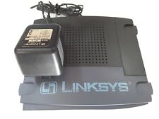 Linksys router with manual & install Cd