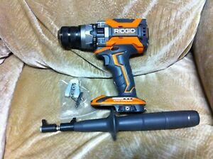 """NEW RIDGID R8611506 Octane Brushless 1/2"""" Hammer Drill"""