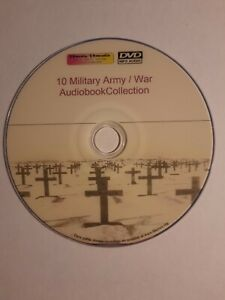 10 Military Army War Unabridged Audiobook collection Mp3 DVD 60+hrs