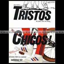ADIDAS 'Americana High Jr' 1983 Vintage Sneakers - Pub / Publicité / Ad #A502