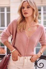 Sezane Barry jumper/cardigan XS blush