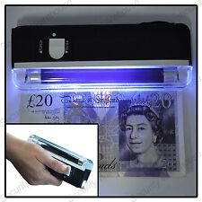 S9Q MINI FAKE NOTE Money DETECTOR LED Torch UV Black Light Lamp Checker Tester