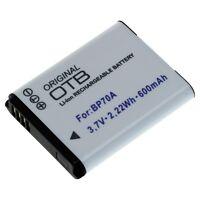 Batteria per Samsung ST30 ST60 ST65 ST66 ST70 ST77 ST80 ST88 BP70A PL80 PL90