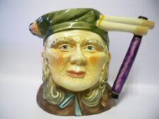More details for vintage large character toby jug  17cm x 23cm