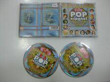 NAVIDADES DEL POP ESPAÑOL 2CD SPANISH JULIO IGLESIAS, ROCIO DURCAL... 2001
