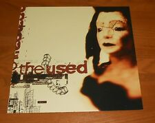 The Used Poster 2-Sided Flat Square 2002 Promo 12x12 Rare