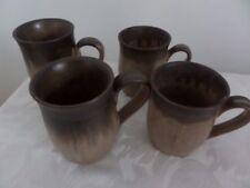 Denby Brown Pottery Mugs
