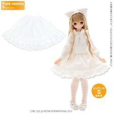 Azone Pureneemo Preppy Frill Tiered Skirt White Blythe Momoko Pullip DAL Obitsu