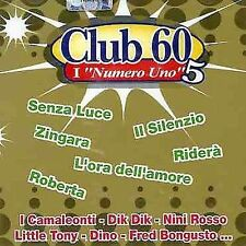 VARIOUS ARTISTS - CLUB 60: I NUMERI UNO, VOL. 5 NEW CD