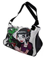 Darkside Clothing HAG Apple BIANCANEVE STREGA cartoni animati CON ZIP Bagagli Bag 45cm