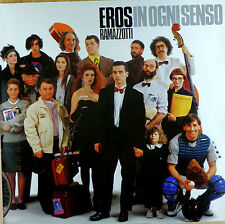 Eros Ramazzotti-In ogni senso-LP-Slavati-cleaned - l3643