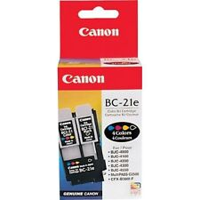 Genuine Canon BC-21E Color & Black PRINTHEAD
