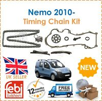 For Citroen Nemo Estate Box 1.3HDi 2010- Febi Bilstein Timing Chain Kit New