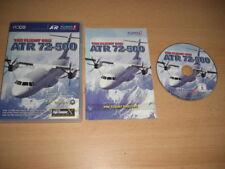 El vuelo uno ATR 72-500 PC Add-On Flight Simulator Fsx FS2004 Sim X y 2004