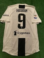 Maglia Juventus Higuain Match Worn Player issued 2017/2018 Serie A