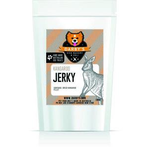Darby's Dog Bakery & Deli Kangaroo Jerky meat chew dog treats 100g