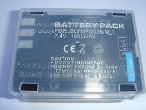 Battery For Olympus BLM-1 BLM1 E1 E3 E30 E330 E500 E510 E520 Accumulator New