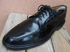 ALLEN EDMONDS Mens Black Dress Shoes Leather Lace Up Business Oxfords Size 11D