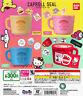 Bandai Sanrio Characters Seal Sticker Caproll set of 4 Hello Kitty Cinnamoroll