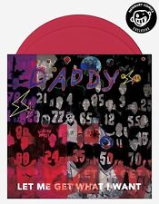 Daddy Let Me Get What I Want Ltd 500 Pink Double Vinyl SIGNED by James Franco