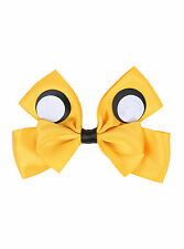 Adventure Time Finn & JAKE YELLOW DOG Cosplay Hair Bow Pin Clip Costume Dress-Up