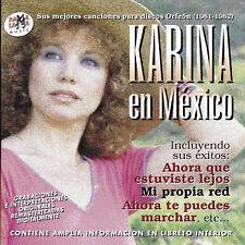 KARINA EN MEXICO- CD