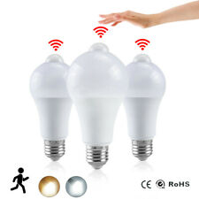Night Light LED Bulb PIR Sensor Motion Lamp Dusk To Dawn Home Pathway Stairway