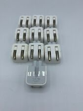 Lot of 10 Apple MagSafe  Wall Adapters DUCKHEAD 2 PRONG PLUG 45W 60W 85W