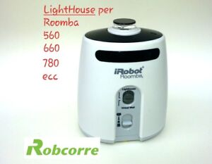 Muro Virtuale Bianco Virtual Wall LIGHT HOUSE per Roomba 560 IRobot  Lighthouse