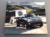 2019 Chevrolet Silverado HD Truck 42-page Original Sales Brochure Catalog
