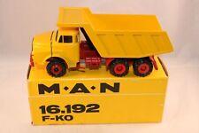 Conrad 3135 M.A.N. 16.192 F-KO Dump Truck very near mint in box OVP SUPERB MODEL