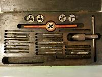 GTD Greenfield Metric Tap & Die Manual Drill Set in Box