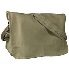 Mafoose Canvas Courier Messenger Shoulder Crossbody Tote School Bag