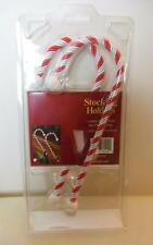 """Stocking Holder Candy Canes Set of 2 9"""" Still in Package Bed Bath and Beyond"""