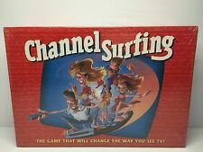 CHANNEL SURFING TV Remote Control Party BOARD GAME Adults Family Fun New Sealed