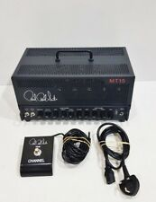 More details for paul reed smith mt15 - amplifer head incl. fs1m  foot pedal